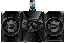 home theater audio system amazon com sony mhcec619ip 120 watts music system home audio