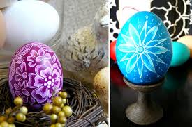 easter eggs decorated pictures 30 creative exles of easter egg designs inspirationfeed