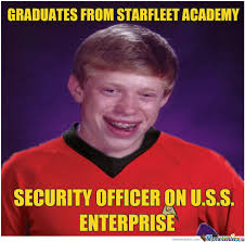 Red Shirt Star Trek Meme - you don t want to wear a red shirt ever by unknownjedi meme center