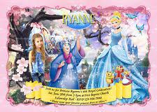 disney princess birthday greeting cards u0026 invitations ebay