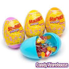large plastic easter eggs starburst jelly beans filled plastic easter eggs 12 display