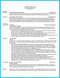 Hbs Resume Appealing Formula For Wonderful Business Administration Resume