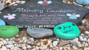 memorial rocks memorial rocks disappear from conway garden wpde