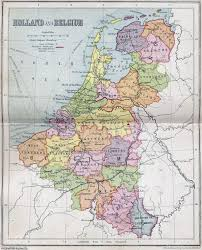 belgium and netherlands map large detailed political and administrative map of netherlands