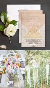bohemian wedding invitations bohemian wedding invitations and inspiration the elli