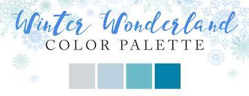 winter color schemes winter wonderland color palette linentablecloth