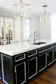 black and white kitchen cabinets a dated kitchen gets a stunning modern makeover black kitchen