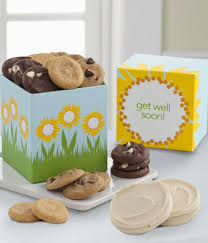 get well soon cookies mrs fields get well soon cookie box at from you flowers