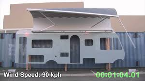 Rose Awnings Omnistor 5m Failure Hd H264 Youtube