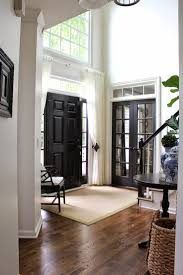How To Lay Laminate Flooring Around Doors 174 Best White Trim Black Doors Images On Pinterest Black