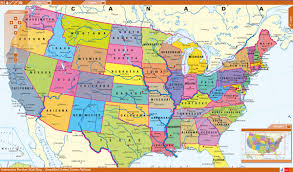 Physical Map Of The United States by Large Scale Administrative Divisions Map Of The Usa Usa Maps Usa