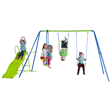 swing set for babies action 3 unit swing set with slide toys r us australia join