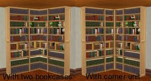How To Build A Corner Bookcase Corner Library Bookcase Design Decoration