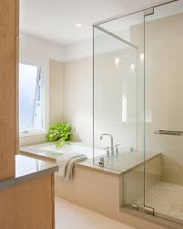 frameless shower enclosures bathroom contemporary with awning
