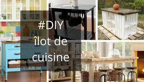 cuisine diy comment fabriquer un îlot de cuisine
