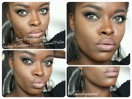 natural contouring feat makeup revolution cover u0026 conceal palette