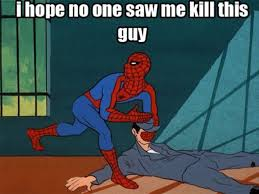 Best Spiderman Memes - 60 s spiderman show caption memes the frederick news post blogs