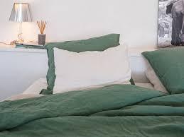 linge lit lin une nuit au mas de la fouque avec embrin créateur de linge de lit