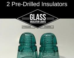 glass insulator light kit diy glass insulator pendant light kit diy insulator lighting