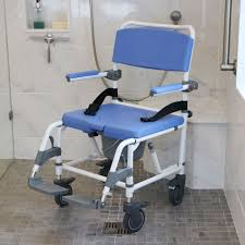 Shower Chair On Wheels Roll In Shower Chair Home Design Health Support Us