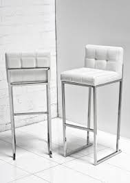 Black And White Bar Stool Best 25 White Leather Bar Stools Ideas On Pinterest Brown