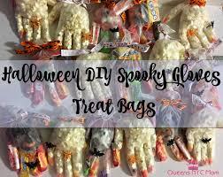 halloween diy spooky gloves treat bags queensnycmom