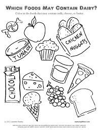 healthy food coloring pages preschool food coloring pages for preschoolers food coloring pages medium size
