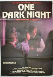 one dark night original cinema movie poster from pastposters com