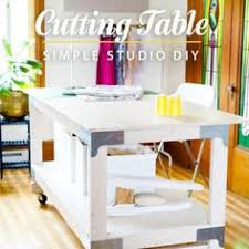 diy foldable craft table craft woodworking and sewing rooms