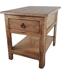 Rustic End Tables Great Deals On American Heartland 30313rsw Rustic End Table