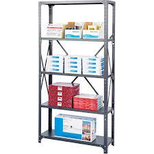 Safco Desk Organizer by Safco 5 Shelf Shelving Rack 36