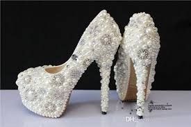 Wedding Shoes Luxury Gorgeous Ssj Wedding Shoes Beading In Stock Pu Cheap Under 100