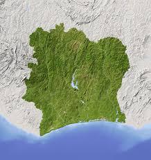 Ivory Coast Map Côte D U0027ivoire Ivory Coast Q Files Encyclopedia