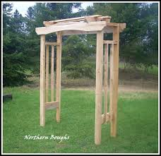 white cedar rustic wedding arch kit rustic wedding arch garden