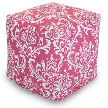 Square Ottomans Bean Bag Ottomans Poufs Stylish Furniture Majestic Home Goods