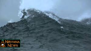 Frozen Waves Frozen U0027slurpee U0027 Waves Lick The Shores Of Nantucket Youtube