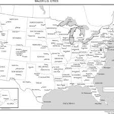 united states major cities map map of usa with labeled states map of usa