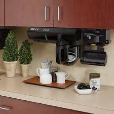 under cabinet coffee maker rv personal coffee maker space saver under cabinet office 12 cup