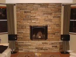 fireplace stone veneer home decor