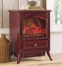 portable fireplace portable electric fireplace ebay
