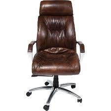 fauteuil de bureau cuir vintage fauteuil de bureau vintage en cuir cigar kare design