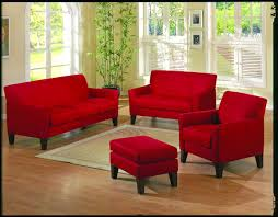 homelegance petite sofa collection red u9913rd