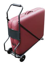 massage table cart for stairs rolling cart for portable massage tables