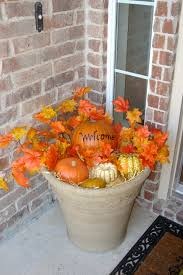 fall front porch welcome fall decorating pinterest front