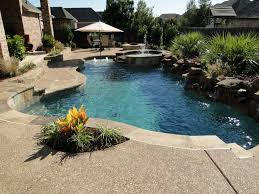 Small Backyard With Pool Landscaping Ideas by Classy Backyard Pool Design With Charming Pool Umbrella Ideas For
