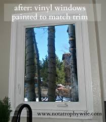 after go ahead and paint your vinyl windows windows doors