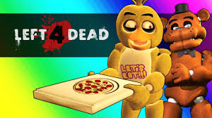 five nights at freddy u0027s vs minecraft left 4 dead 2 funny