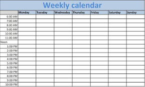 printable weekly calendar printable weekly calendar weekly