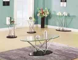 glass modern coffee table sets how to make your house look fresh