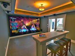 beautiful media room designs architecture nice